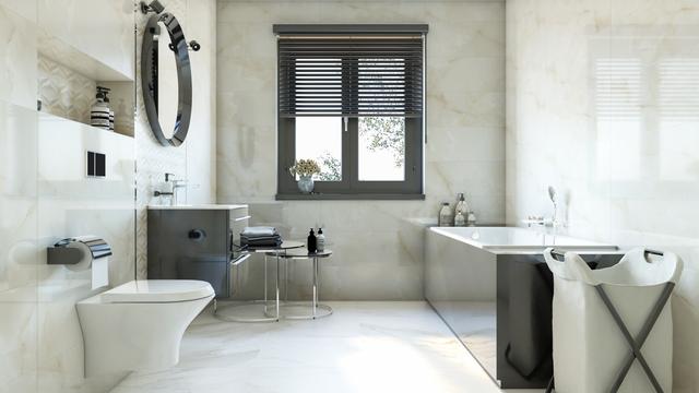 Azario Opal - wizualizacja łazienki