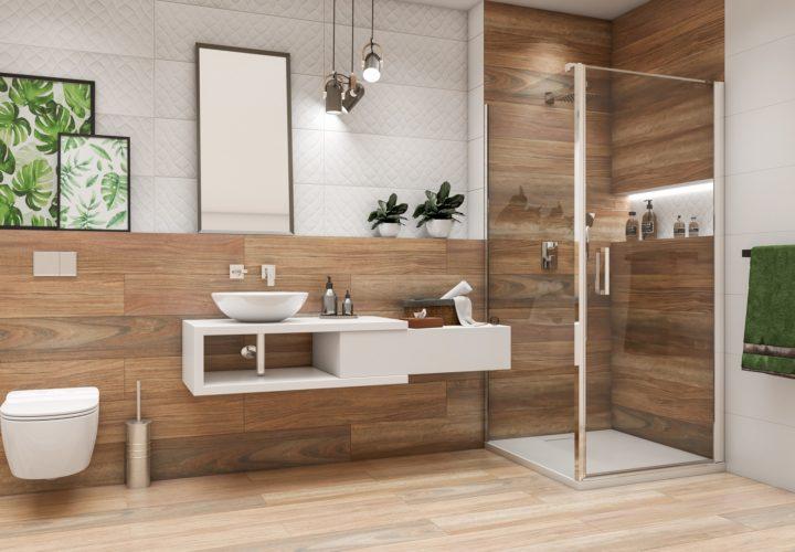 Wizualizacja łazienki 3D – Azario Alasca