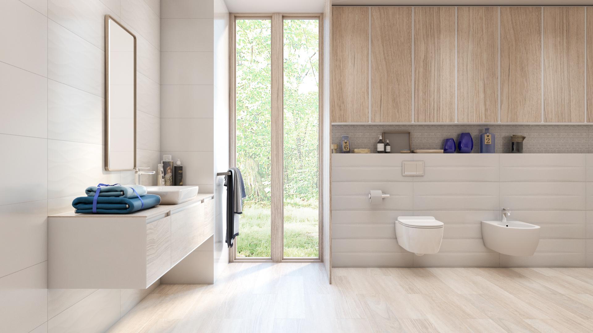 Wizualizacja łazienki 3D – Azario Blancos