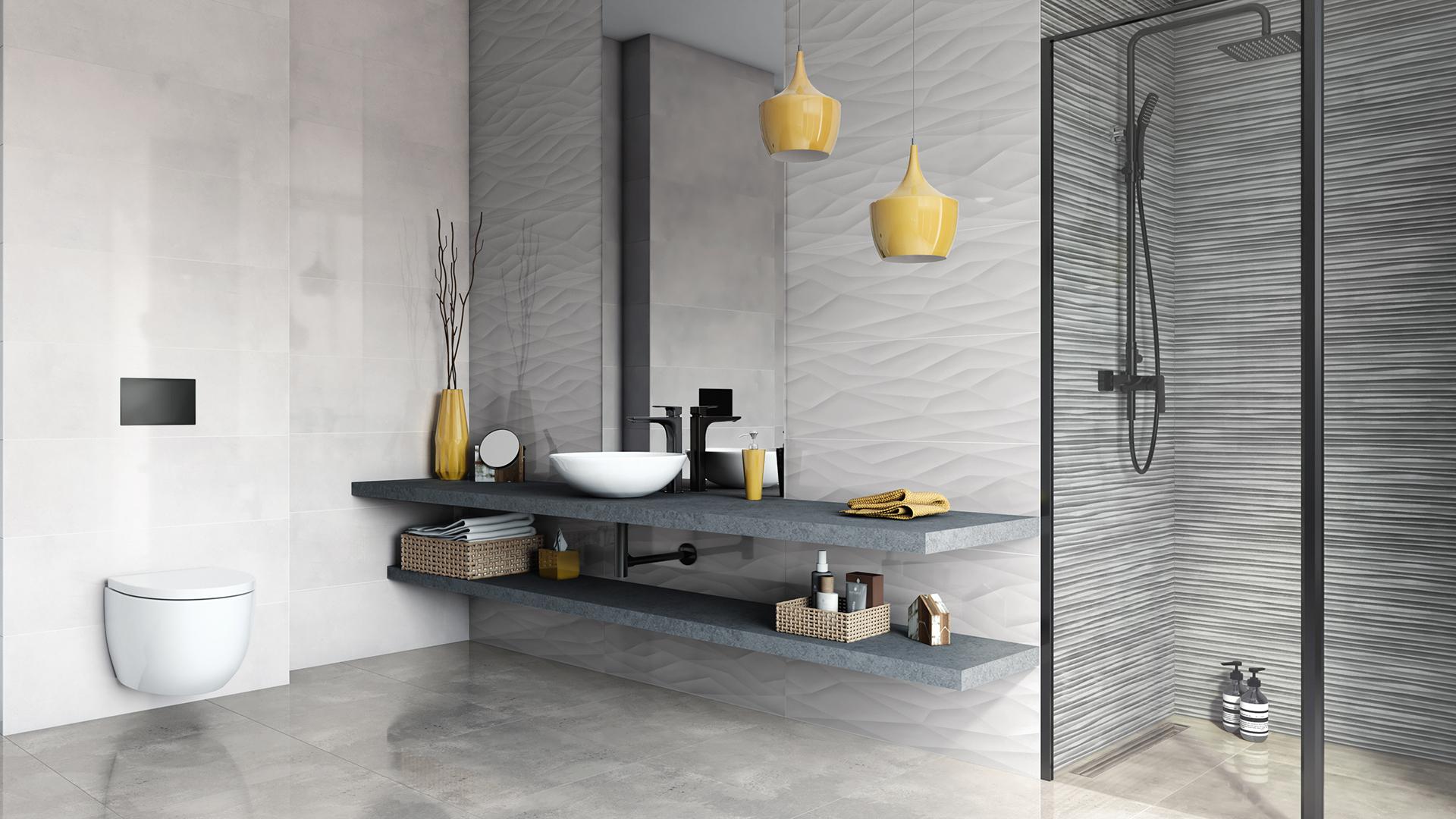 Wizualizacja łazienki 3D – Azario Oxid